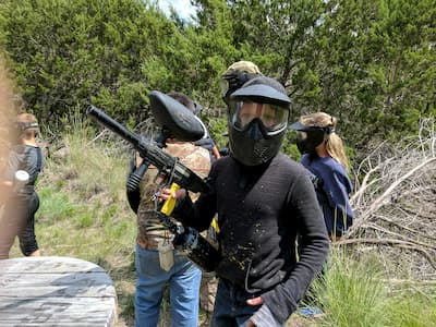 birthday paintball party near austin
