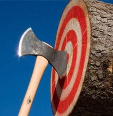 axe throwing near austin tx