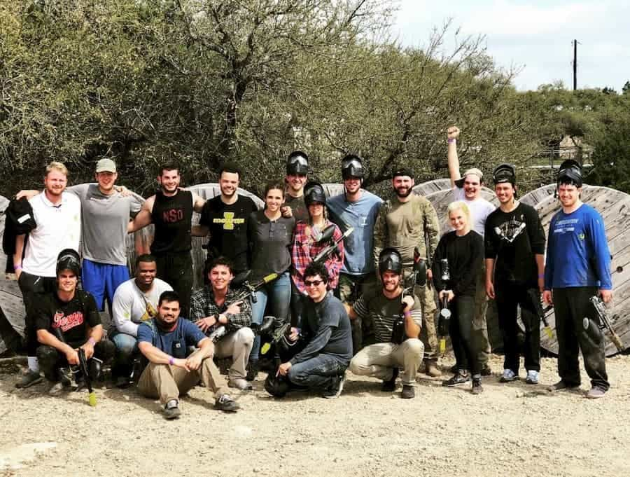 church group paintball parties